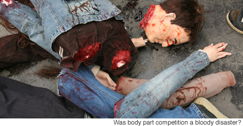 Gory Pictures of Accident Victims http://newslite.tv/2009/03/