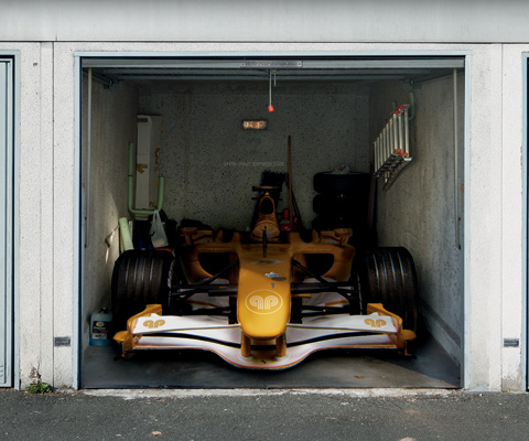Garage door covers for Arredamento garage