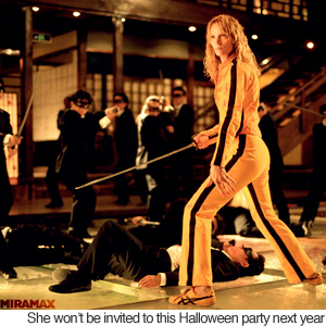 Yellow Dress on Kill Bill Tops Most Popular Halloween Costumes   Odd News   Newslite
