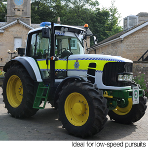 Police tractor launched to combat rural crime