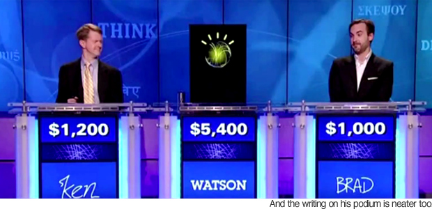 Watson the IBM robot competes on Jeopardy! - Odd News | newslite.tv