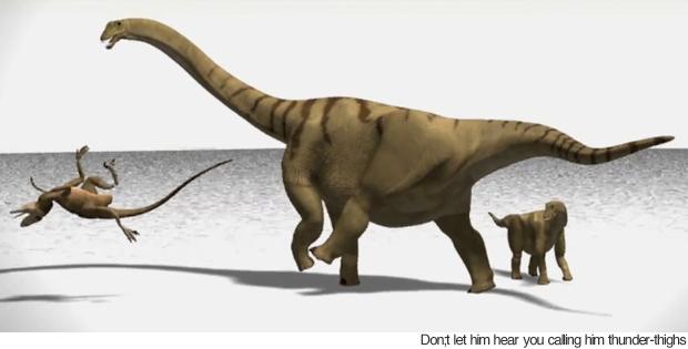 Thunder-thighs dinosaur